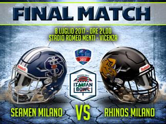 Next-Match-Italian-Bowl