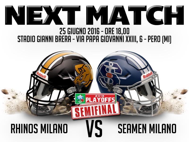 Next Match Semifinal White
