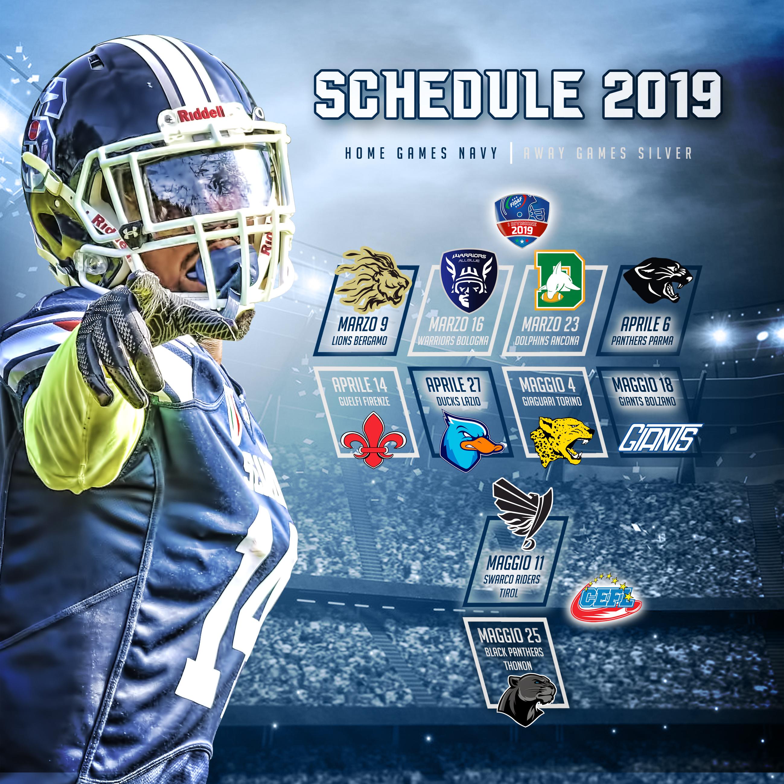 50 - Schedule 2019